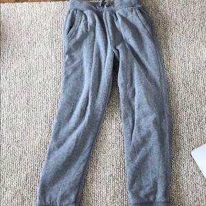 Boys grey fleece lined sweatpants